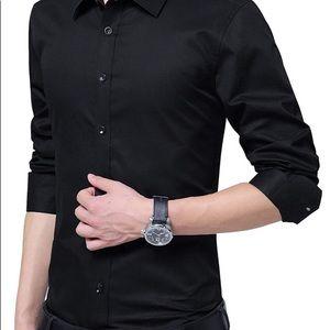 🕴🏻👔🍁🍃Men's calves Klein shirt